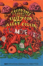 Creedence clearwater , filmore west 1969,by Lee Conklin