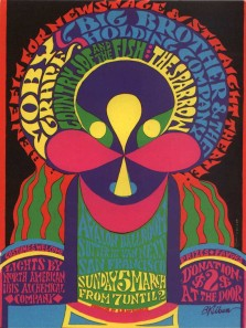 Moby Grape, Avalon ballroom 5th March 1967 , by B. Kliban