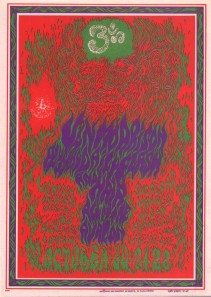 Van Morrison  Avalon ballroom san francisco  october 1967 ,by Wes Wilson