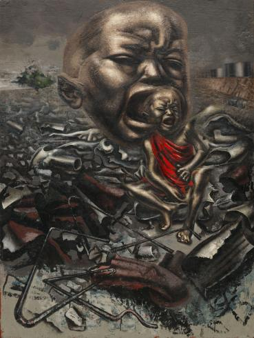 David Alfaro Siqueiros - Echo of a Scream