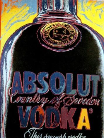 Warhol - Absolut Vodka