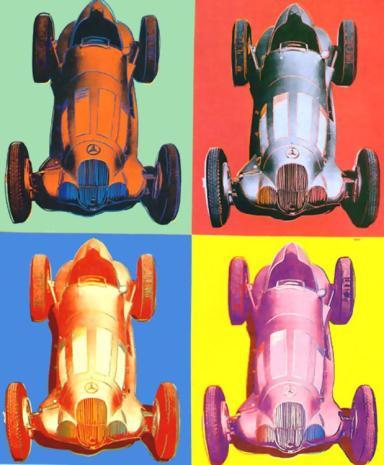 Warhol - Benz Racing Car