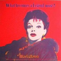 Warhol - Blackglama (judy Garland)