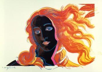 Warhol - Botticelli (dettaglio)