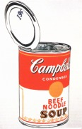 Warhol - Campbell'S Soup Can (beef)