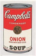 Warhol - Campbell'S Soup Can (onion)