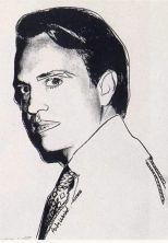 Warhol - Carter Burden (white)