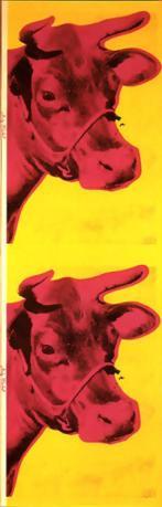 Warhol - Cow Wallpaper