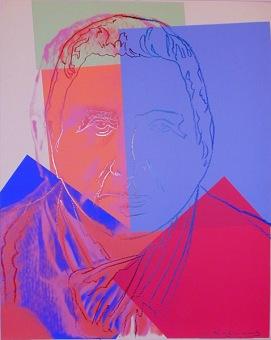 Warhol - Gertrude Stein