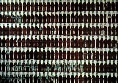 Warhol - Green Coca-Cola Bottles
