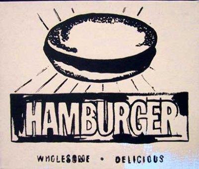 Warhol - Hamburger (beige)