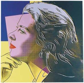 Warhol - Ingrid Bergman (as Herself)