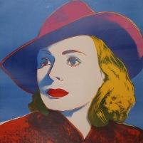 Warhol - Ingrid Bergman With Hat
