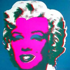 Warhol - Marilyn Blue