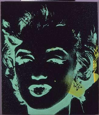 Warhol - Marilyn Reversal