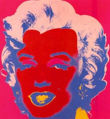 Warhol - Marylin Red