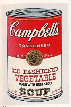 Warhol - Old Fashioned Vegetable