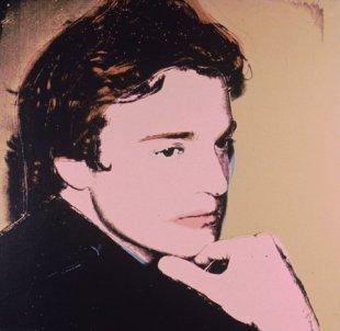 Warhol - Portrait Of Jamie Wyeth