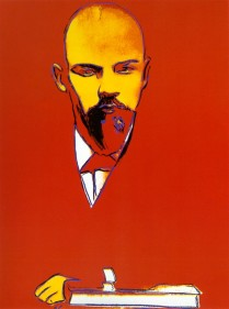 Warhol - Red-Lenin
