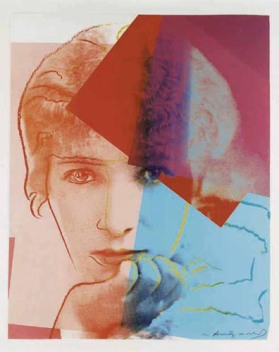 Warhol - Sarah Bernhardt