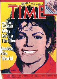 Warhol - Time Magazine Cover